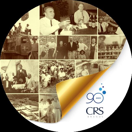 Resultado de imagem para CRS BRANDS 90 anos