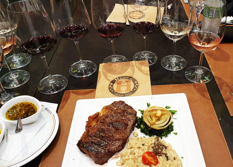 Vinhos Perez Cruz e gastronomia do Hocca Bar