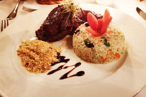Gastronomia do Hotel Toriba em Campos do Jordão.