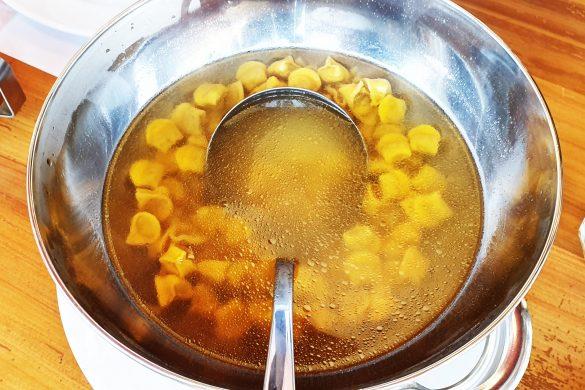 Sopa de capeletti do Galeto Di Paolo