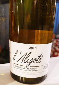 1º vinho degustado-Aligoté