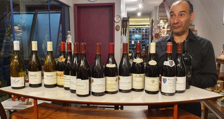 Seleção de vinhos Cavisteria