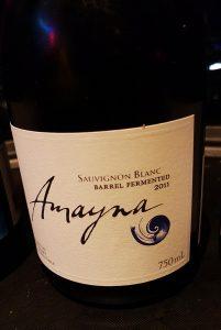 Amayna S.Blanc Barrel Fermented 2011