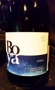 Boya Syrah 2014