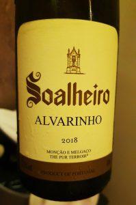Vinho Verde Soalheiro Alvarinho 2018