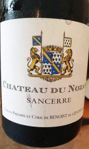 Château du Nozay Sancerre Blanc 2017