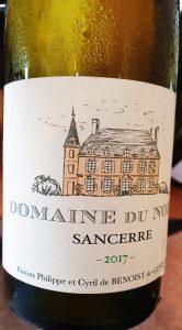 Domaine du Nozay Sancerre Blanc 2017