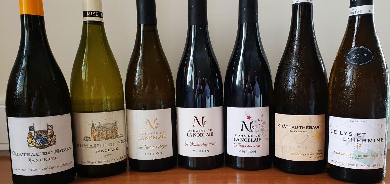 Vinhos degustados PNR-Edega