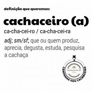 Definição de cachaceiro(a).
