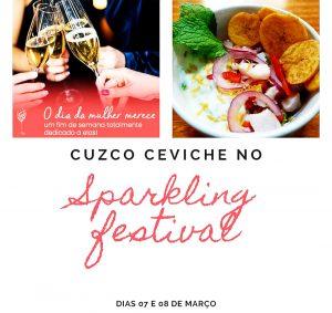 Cuzco Ceviche no Sparkling FestivalSP