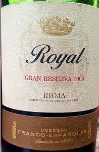 Royal Gran Reserva 2006