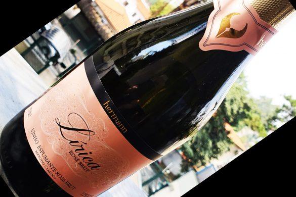 Lírica Rose Brut da vinícola Hermann