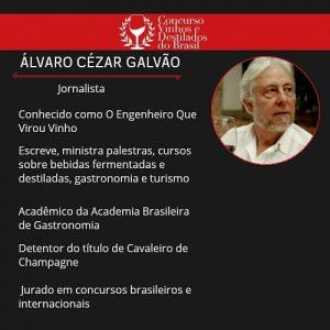 Concurso Vinhos e Destilados do Brasil-Álvaro