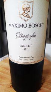 Maximo Boschi Biografia Merlot 2011