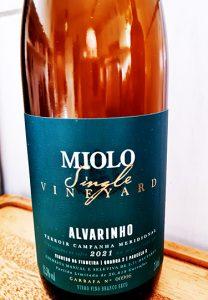 Miolo Single Vineyard Alvarinho 2021