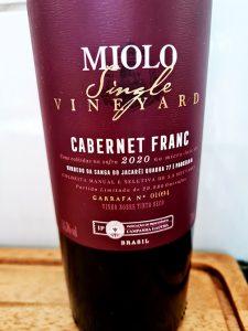 Miolo Single Vineyard-Cabernet Franc 2020